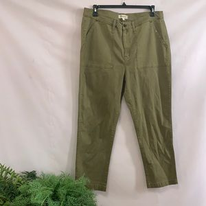 NWT MADEWELL CRUISER STRAIGHT CHINO PANTS SIZE 34